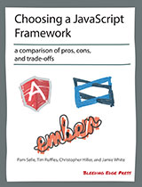 Choosing a JavaScript Framework cover